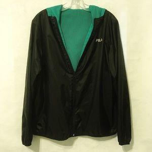 Fila Sport Hooded Windbreaker Reversible Jacket